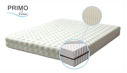 100 % Latexmatratze Primo Line Kokos - Härtegrad M - H2 - Dunlop Technologie (90 x 190 x 16)