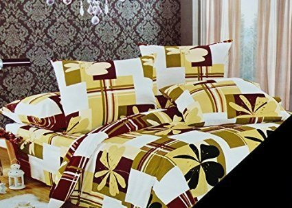 200x220 creme beige olivengr n wei bettw sche bettbez ge bettw schegarnituren baumwolle. Black Bedroom Furniture Sets. Home Design Ideas