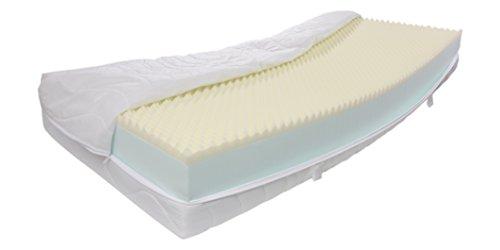 25 cm h he ca matratze dibapur visco life xxl orthop dische kaltschaummatratze hohes. Black Bedroom Furniture Sets. Home Design Ideas
