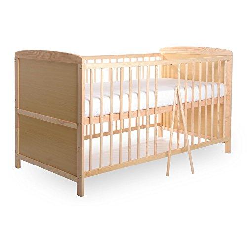 BABYBLUME Kinderbett Babybett Gitterbett Teilmassiv 140x70 cm - Tina Kiefer