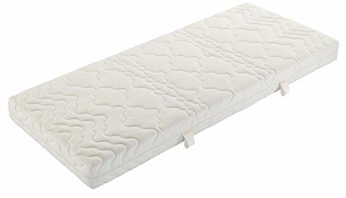 Badenia Bettcomfort 03888700159 Tonnentaschenfederkernmatratze Trendline BT 200 H2, 90 x 200 cm, weiß