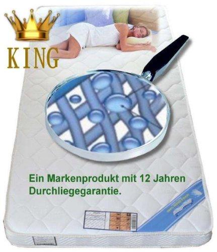 bayscent king gelschaum matratze gelmatratze 100x220 tonnentaschenfederkern matratze. Black Bedroom Furniture Sets. Home Design Ideas