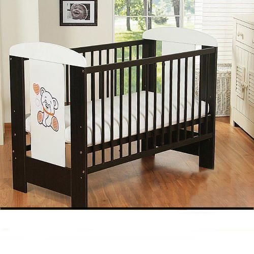 best for kids gitterbett my sweet baby mit neuer 10 cm matratze aus schaumstoff t v zertifiziert. Black Bedroom Furniture Sets. Home Design Ideas