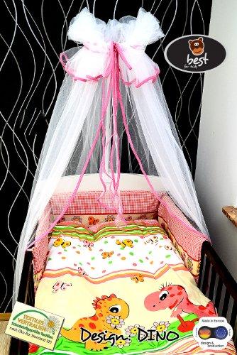 Best For Kids Komplettset Babybett 60x120 cm mit Bettwäsche inkl. Decke und Kissen - 8 Design - 22-TLG