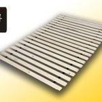 Best For You Rollrost aus 15 massiven stabilen Holzlatten Fichtenholz Geeignet für alle Matratzen 90x200 cm