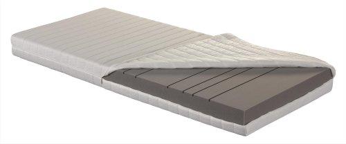 Betten-ABC OrthoMatra KSP-500 XXL, Orthopädische 7-Zonen Kaltschaummatratze, Härtegrad H4, Gesamthöhe 16 cm, abnehmbarer und waschbarer Bezug, Größe: 140 x 200 cm