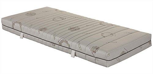 7 zonen taschenfederkernmatratze orthomatra abc spring mit waschbarem bambus bezug gr sse 70. Black Bedroom Furniture Sets. Home Design Ideas