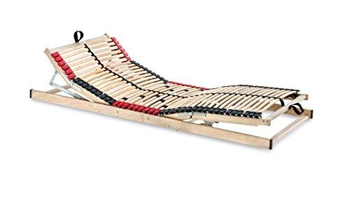 Betten-ABC Superflex Elektro, 7 Zonen Lattenrost mit elektrischer Kopf und Fußteilverstellung, 70 x 200 cm