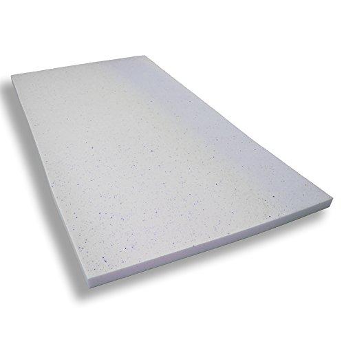 Gelschaumtopper ohne Bezug Betten-ABC® MaGeTo-5 Orthopädische Gelschaum - Passt sich dem Körper an - Grösse 180x200