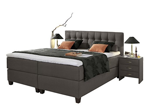 boxspringbett ernesto polsterbett bonellfederkern box. Black Bedroom Furniture Sets. Home Design Ideas