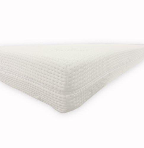 Dibapur®: Cashmere Topper Visco Noppen Auflage mit Cashmere Bezug ca. 6cm Gesamt: ca. 6,2 cm (Cashmere 150x200x6)