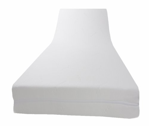 Dibapur® - PLATINUM VISCO TOPPER mit medicott® Bezug - Viscoelastische Matratzenauflage (H3 medicott 180x200x8)
