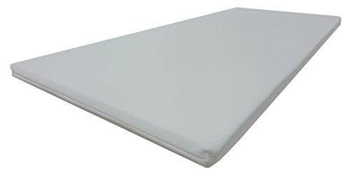 Dibapur® VISCO TOPPER 3D Air Fresh Bezug Viscoelastische Memory Matratzenauflage (3D AIR 140x190) x ca. 5 cm Kern mit Bezug ca. 5,2 cm - Made in Germany