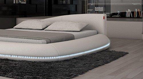 Dual Wasserbett Modica LED Komplett Set