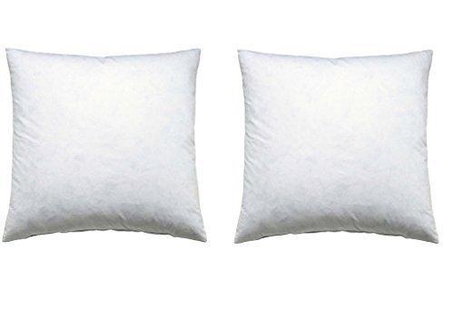 2er set kissen 40x40cm f llkissen kissenf llung microfaserf llkissen kissenf llung polyester. Black Bedroom Furniture Sets. Home Design Ideas