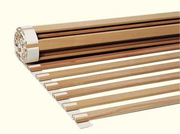 Hochwertiger metallfreier Rollrost Lattenrost 90x200cm stabiles Massivholz Qualitätsprodukt