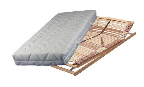 luxus set bestehend aus breckle vital spring 5 zonen taschenfederkernmatratze in 100 x 220 cm. Black Bedroom Furniture Sets. Home Design Ideas