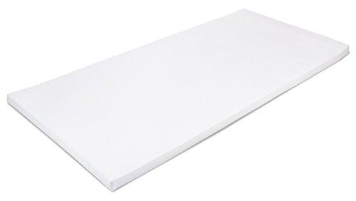 MSS 100300-200.90.5 Viscoelastische Matratzenauflage, RG50 mit Bezug, 90 x 200 x 5 cm