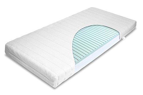 mss 7 zonen visco gelschaum wellness matratze gr 160x200x14 cm h rtegradoptimiert bis 110 kg. Black Bedroom Furniture Sets. Home Design Ideas