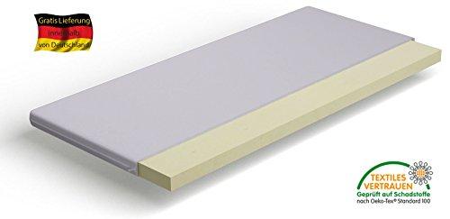 Orthopädische Reise-Matratzen-Auflage VISCO-Topper Höhe ca 5 cm 120 x 200 cm Standard-Bezug