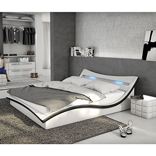 kunstleder bett braun 140x200 m bel inspiration und. Black Bedroom Furniture Sets. Home Design Ideas