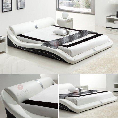 i flair polsterbett 180x200 cm toni schwarz wei 68 tonnentaschenfederkern matratze. Black Bedroom Furniture Sets. Home Design Ideas