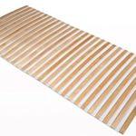 TAURO 28350 Lattenrost rollbar | Rollrost für Doppelbett | Rolllattenrost 140 x 200 cm
