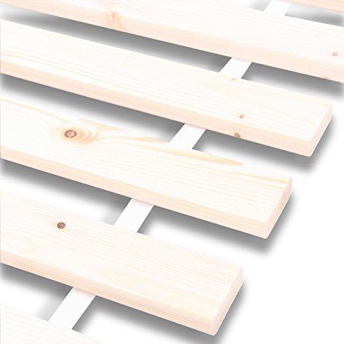 rollrost rolllattenrost lattenrost bettrost 12 leisten latten rost 70x200cm. Black Bedroom Furniture Sets. Home Design Ideas