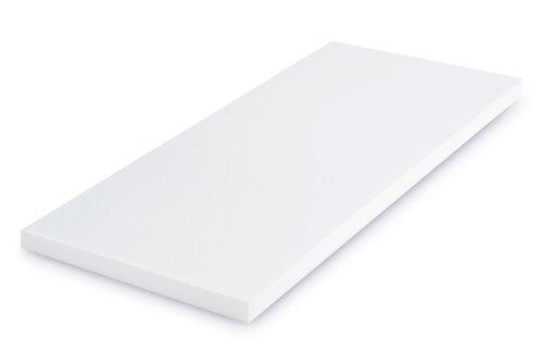 SHO Viscoelastische Matratzenauflage 130x200x4 cm ohne Bezug