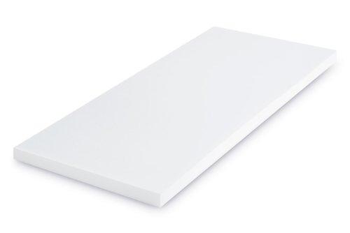 SHO Viscoelastische Matratzenauflage 160x200x5 cm mit Bezug