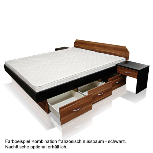 sonderaktion bellvita mesamoll ii wasserbett mit schubladensockel in komforth he und. Black Bedroom Furniture Sets. Home Design Ideas
