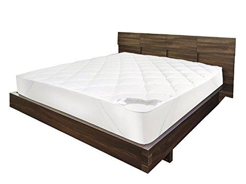 sei design luxus mikrofaser matratzenschoner gesteppt extra soft und weich durch doppelte. Black Bedroom Furniture Sets. Home Design Ideas