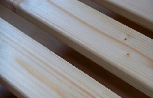 TUGA-Holztech 20mm Rollrost Rolllattenrost 140x200cm bis 200KG Qualitätsarbeit aus Deutschland unbehandelt frei von Chemie Naturprodukt