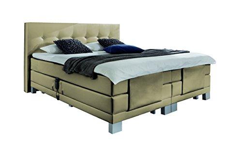 wellness edition 18453 boxspringbett elektro taschenfederkern 180 x 200 cm ecru. Black Bedroom Furniture Sets. Home Design Ideas