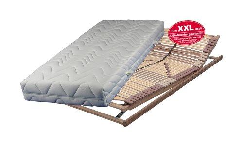 xxl set bestehend aus breckle vital spring 5 zonen taschenfederkernmatratze in 100 200 cm im. Black Bedroom Furniture Sets. Home Design Ideas