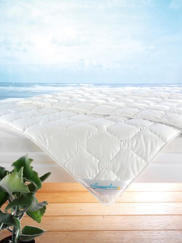 f a n wash cotton sommer bettdecke 135x200 cm tonnentaschenfederkern matratze. Black Bedroom Furniture Sets. Home Design Ideas