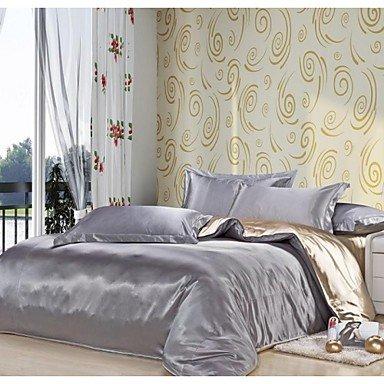 xxzone 4 seide gemischt farben hotel supplies bettbezug set queen matratzen online shop. Black Bedroom Furniture Sets. Home Design Ideas