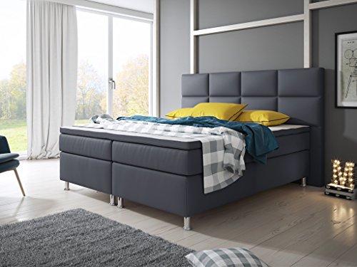 inter boxspringbett tonnentaschenfederkern matratze. Black Bedroom Furniture Sets. Home Design Ideas