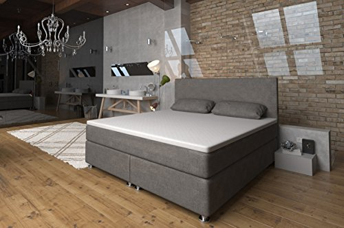 boxspringbett 160x200 ronda lux komfort taschenfederkern matratze h3 unterbau. Black Bedroom Furniture Sets. Home Design Ideas
