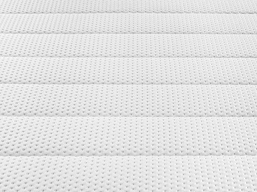 Traumnacht Orthopädische Kaltschaummatratze Härtegrad 3 (H3), 140 x 200 cm, weiß