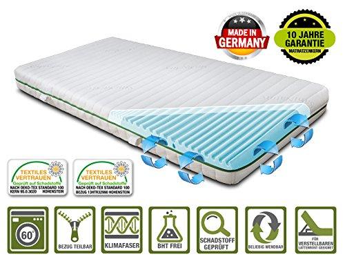kaltschaummatratze ortholex mit schulter zone made in germany bezug saninature klimafresh. Black Bedroom Furniture Sets. Home Design Ideas