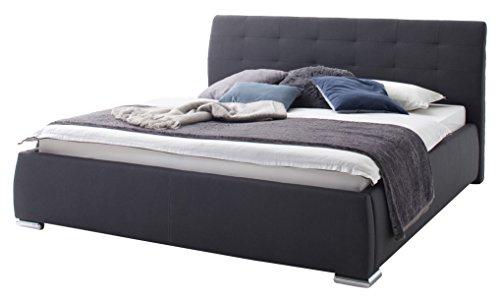 sette notti polsterbett bett mit bettkasten 180x200 mit 7 zonen tonnentaschen matratzen h2 und. Black Bedroom Furniture Sets. Home Design Ideas
