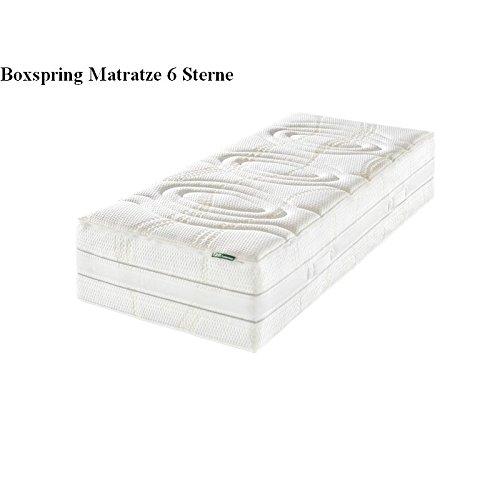 f a n boxspring matratze 6 sterne 140x200 cm h 3 fest tonnentaschenfederkern matratze. Black Bedroom Furniture Sets. Home Design Ideas