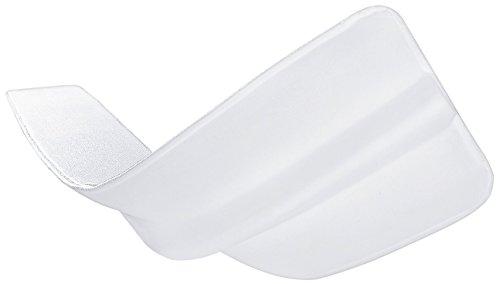 PROCAVE Matratzen-Brücke mit Frottee-Bezug 25 x 200 cm für Doppel-Matratze | Made in Germany | Liebesbrücke in weiß für Doppel-Bett | Matratzen-Keil als Ritzen-Füller für eine große Liegefläche