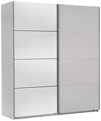 wimex 507057 schwebet renschrank 135 x 210 x 65 cm alpinwei spiegel. Black Bedroom Furniture Sets. Home Design Ideas