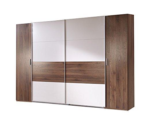 wimex k02788 dreh schwebet renschrank holz columbia nussbaum nachbildung abs tze prosecco. Black Bedroom Furniture Sets. Home Design Ideas