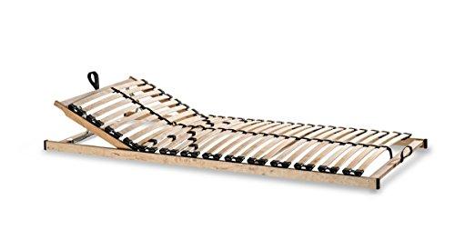 """Lattenrost Metatex """"7 ZONEN 28 Leisten"""" Zerlegt Härtegrad- und Kopfteilverstellung (100 x 200 cm)"""
