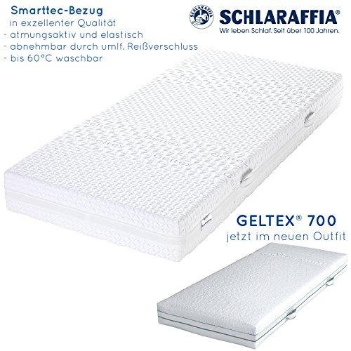 Schlaraffia Geltex 700 Bultex Matratze 90x200 H3