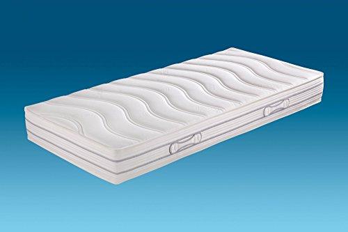 Hn8-Schlafsysteme 'Emotion Pro TFK' 7-Zonen-Tonnen-Taschenfederkern mit ca.1000 Federn, Härtegrad H2, Größen Matratzen:100 x 200 cm