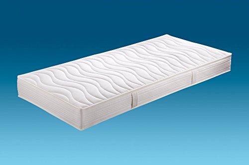 Hn8-Schlafsysteme 'Jasmin Pro' 7-Zonen-Tonnen-Taschenfederkern extra feste Ausführung Härtegrad H4, Größen Matratzen:80 x 200 cm